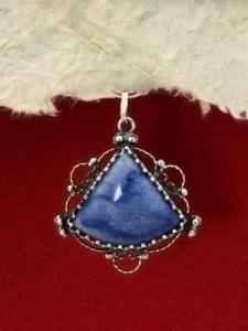 Сребърен медальон филигран - FPK60