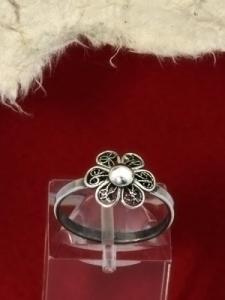 сребърен пръстен филигран - FRB9