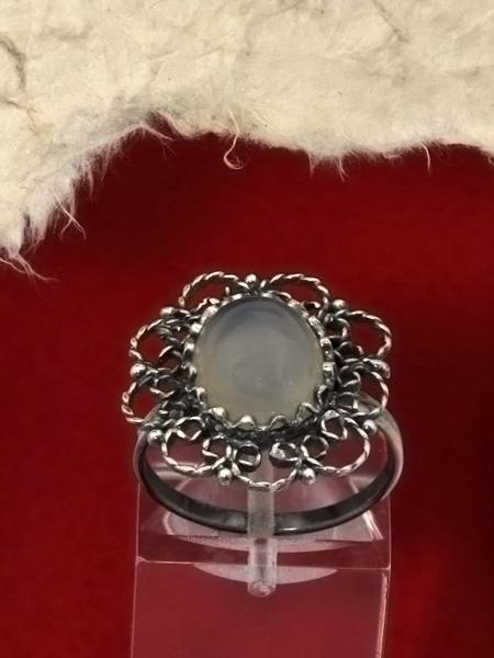 Сребърен пръстен филигран - FR59