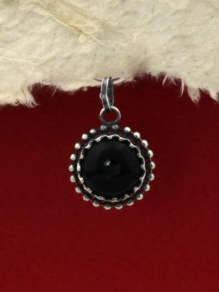 Сребърен медальон филигран - FPK72