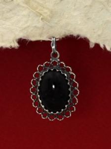 Сребърен медальон филигран - FPK75