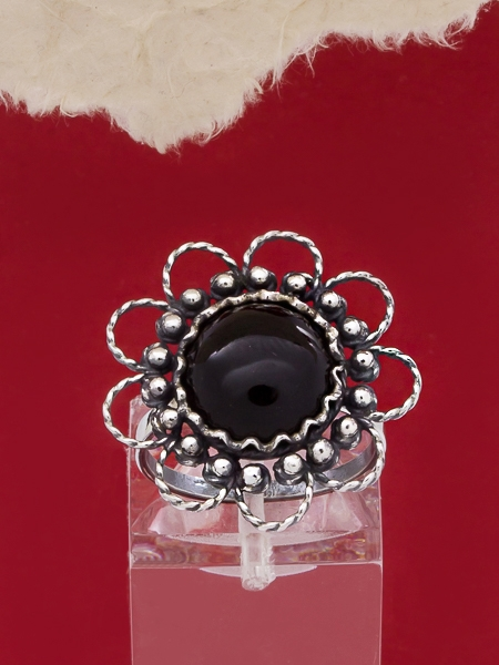 Сребърен пръстен филигран - FRK62