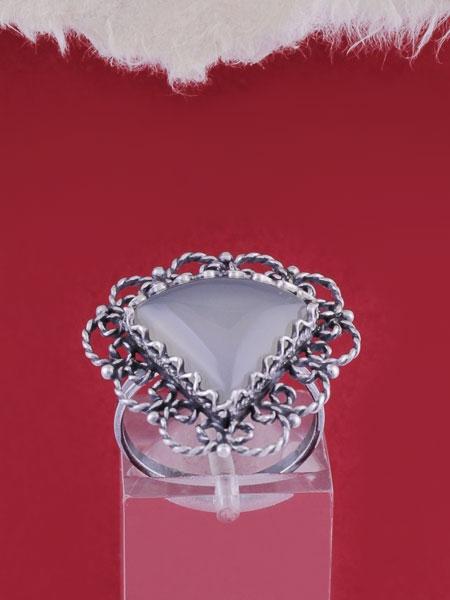 Сребърен пръстен филигран - FRK63