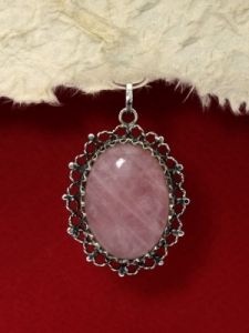 Сребърен медальон филигран - FP182
