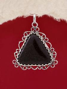 Сребърен медальон филигран - FP187