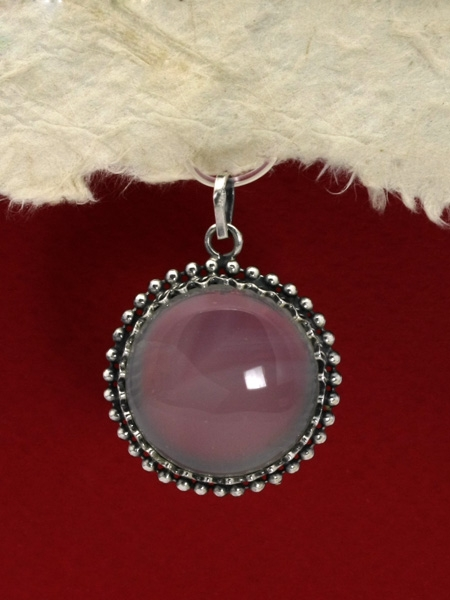 Сребърен медальон филигран - FP188