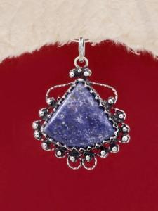Сребърен медальон филигран - FP192