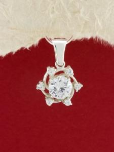 Сребърен медальон - PK341