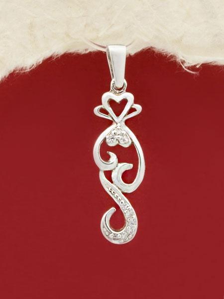 Сребърен медальон - PK339
