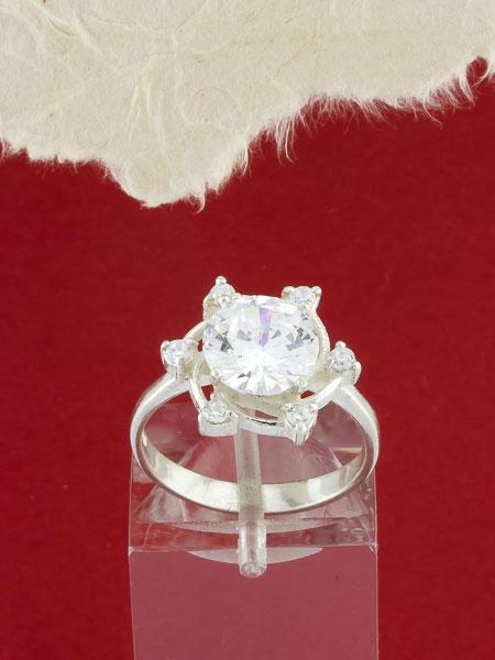 Сребърeн пръстен - RK341