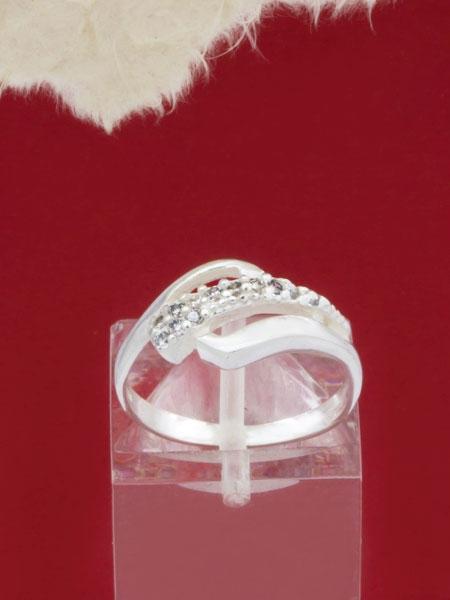 Сребърен пръстен - RK337