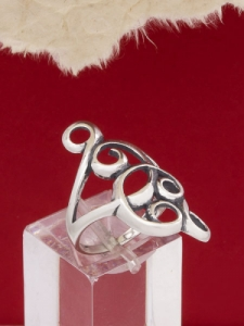 Сребърен пръстен - RK280