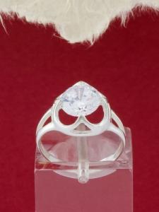 Сребърен пръстен - RK304