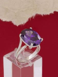 Сребърен пръстен - R328