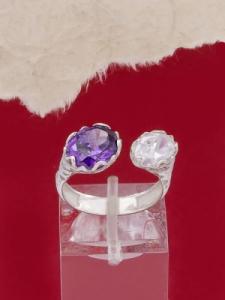 Сребърен пръстен - R330