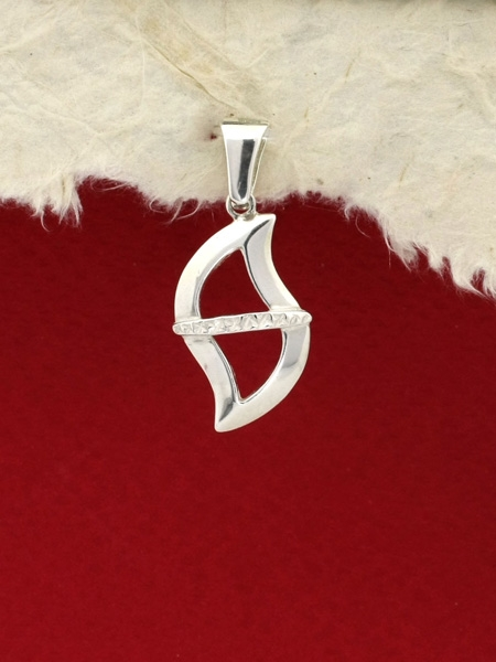 Сребърен медальон - PK321