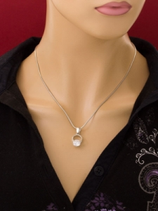 Сребърен медальон PK336