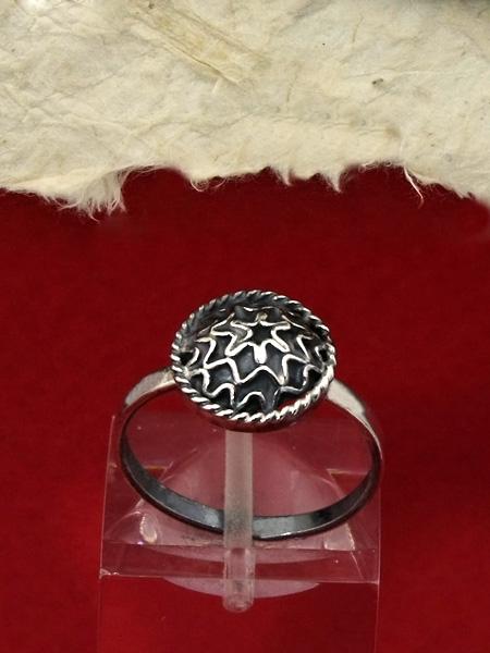Сребърен пръстен филигран FRE102