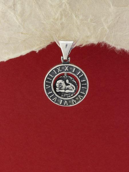 Сребърен медальон - P203lav