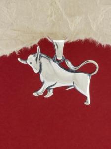 Сребърен медальон P219telec