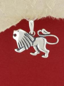 Сребърен медальон - P219lav