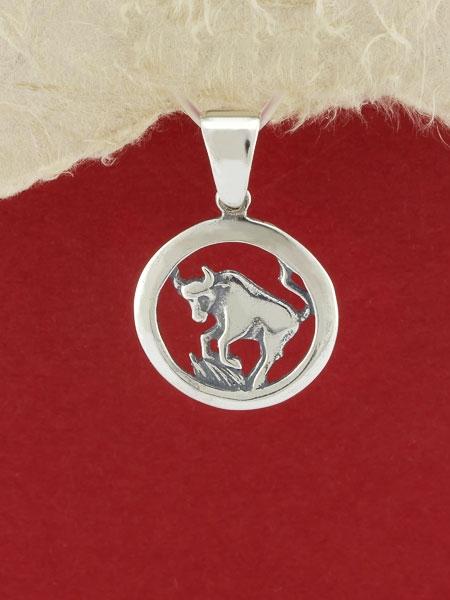 Сребърен медальон - P193telec