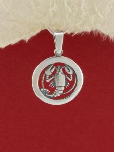 Сребърен медальон - P193rak