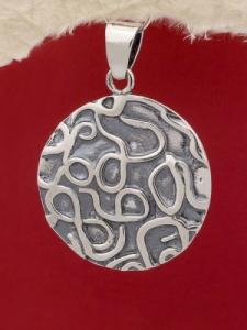 Сребърен медальон P2