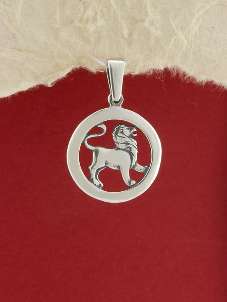 Сребърен медальон - P193lav