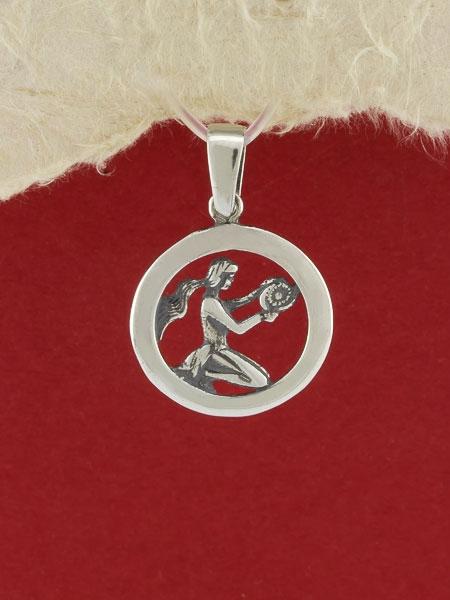 Сребърен медальон - P193deva
