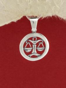 Сребърен медальон - P193vezni