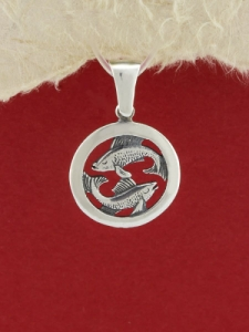 Сребърен медальон - P193ribi