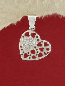 Сребърен медальон P269