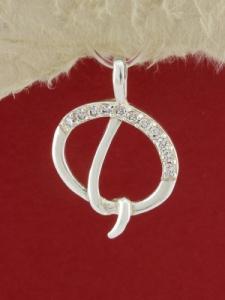 Сребърен медальон P265