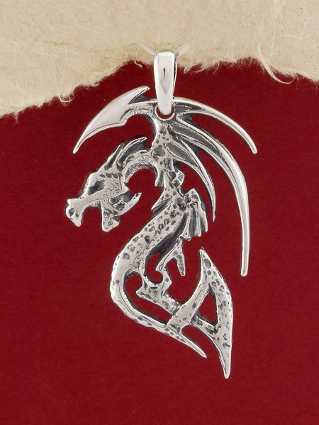 Медальон Дракон P7
