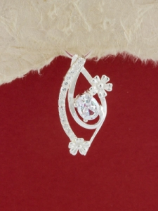 Сребърен медальон - P278