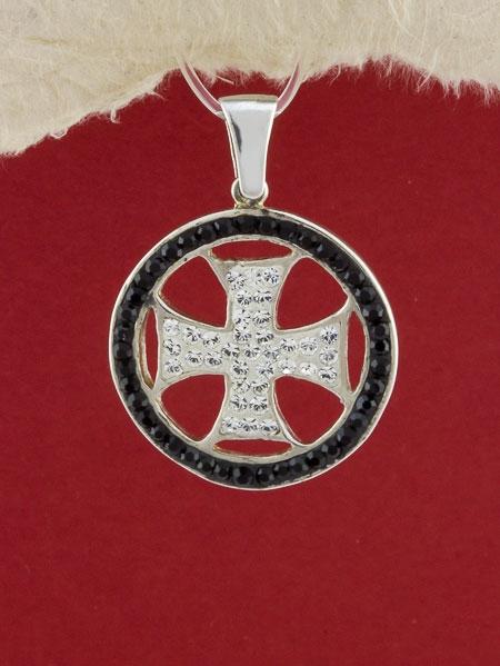 Сребърен медальон - P286