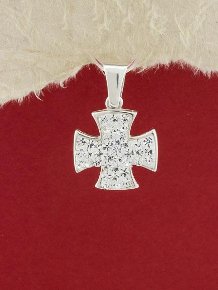 Сребърен медальон - P291