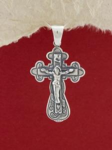 Сребърен медальон - P294