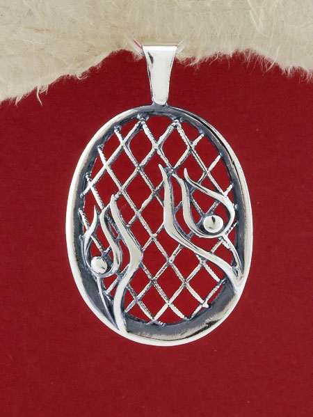 Сребърен медальон - P315