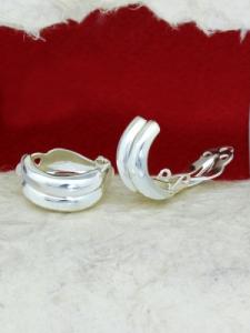 Сребърни обеци E14397