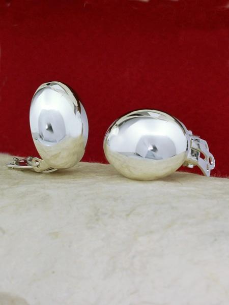 Сребърни обеци E17715