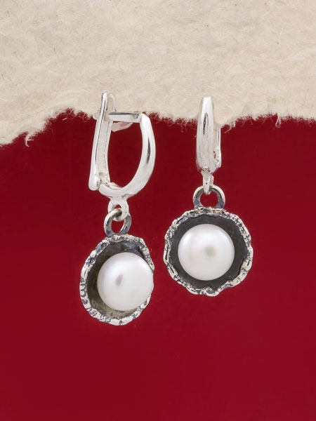 Сребърни обеци - SE22