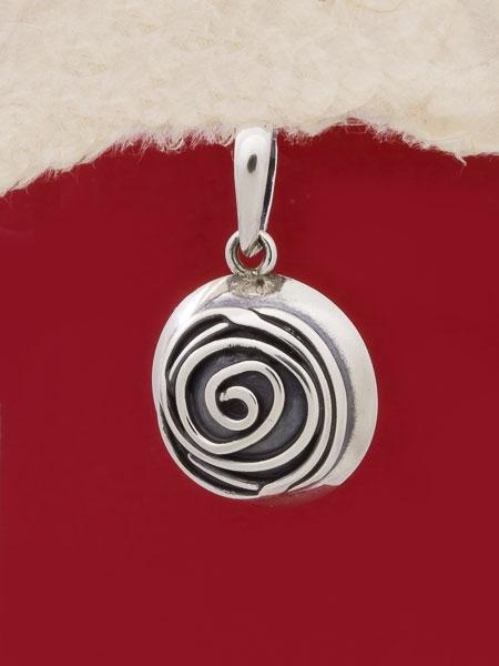 Сребърен медальон - HP12