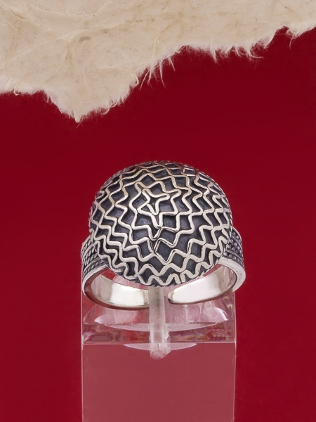 Сребърен пръстен филигран - FRE102A
