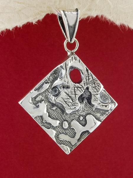 Сребърен медальон - PK7