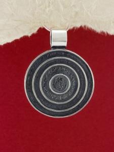 Сребърен медальон - PK9