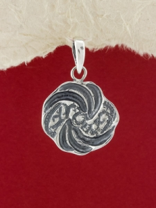 Сребърен медальон - PK20