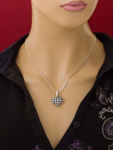 Сребърен медальон - PK21