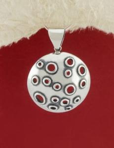 Сребърен медальон - PK25A